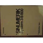 Bedienungsanleitung SINUMERIK System 3/8/800 (75)