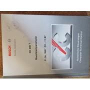 Bedienungsanleitung Bosch CC 200 T (89)