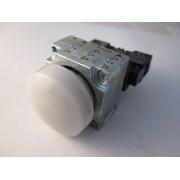 weißer Leuchtmelder mit 3SB3400-1A