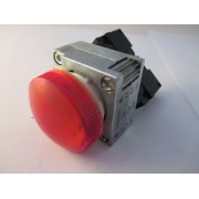 roter Leuchtmelder mit 3SB3400-1A